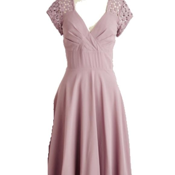Modcloth Dresses Plus Size Pink Dress Poshmark
